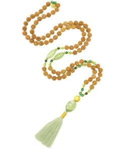 Green Tara Goddess Mala